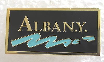 City of Albany, New York Travel Souvenir Collector Pin