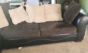 Sectional Couch with swivel Chair