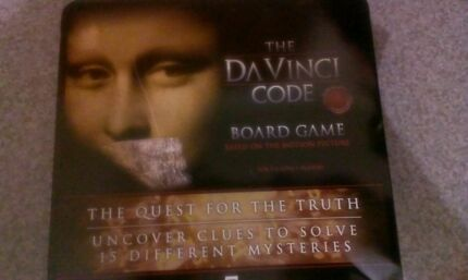 Brand New Da Vinci Code Board Game Hilton West Torrens Area Preview