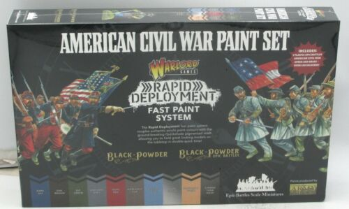 Black Powder Epic Battles 302614001 American Civil War Paint Set (Paint System)