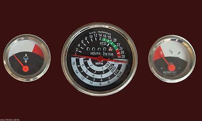 Replacement Tachometer Temperature Fuel Gauge Fits John Deere 1010 2010