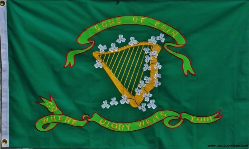 SONS OF ERIN FLAG - 3