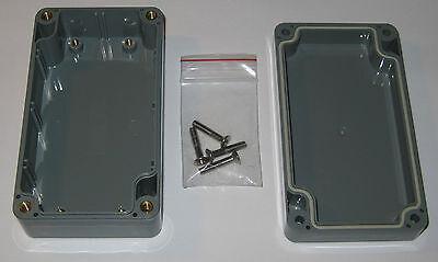 Bud Industries Enclosure Box - Abs Project Case - 4.5 L - Pn-1321-dg Pcb Mount
