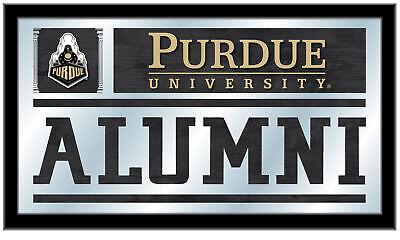 "Purdue Boilermakers Holland Bar Stool Co. Alumni Mirror (26"" x 15"")"