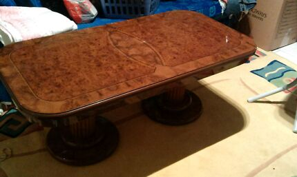 Designer Wood Coffee Table Edensor Park Fairfield Area Preview