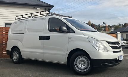 '11 HYUNDAI I-LOAD VAN **TURBO DIESEL-WITH TRADIE FIT OUT**