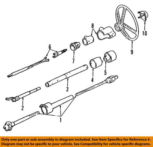 GM OEM Steering Column-Coupling 10429206