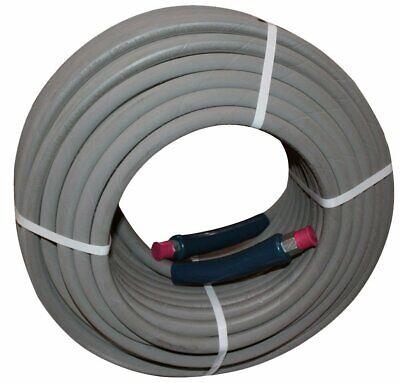 100-feet Gray Non-marking High-pressure Washer Hose 38 X 100 4000 Psi