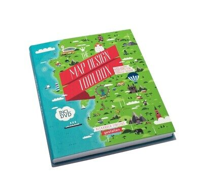 Libro The Map Design Toolbox - Time Saving Templates for Graphic Design...