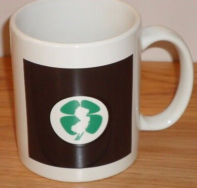 New Jersey Lottery Ceramic Coffee Mug W 4 Leaf Clover Image 4 H