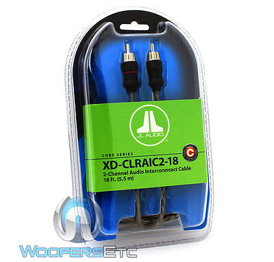 JL AUDIO Xd-clraic2-18 18 Ft 2-channel Twisted Rca Cable ...