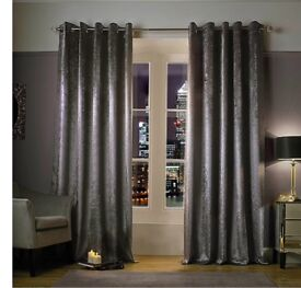 Kylie minogue at home lined eyelet curtains