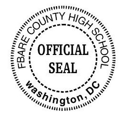 Notary Embosser - Ideal Hand Official Seal Round Custom Embosser For Any State