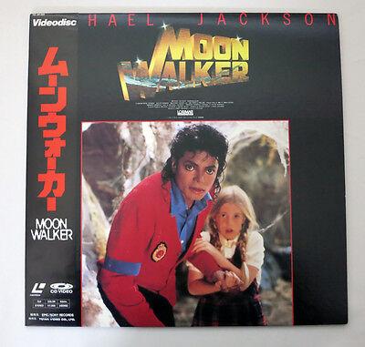 e134 Japan Laserdisc MICHAEL JACKSON, MOON WALKER, COME TOGETHER, BAD κ
