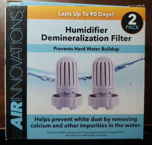 Air Innovations Humidifier Demineralization Water Filters 2 Pack