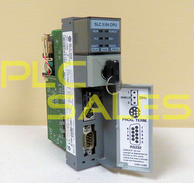 Allen Bradley 1747-l543 C  Slc500 504 Processor Frn 8