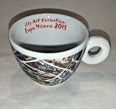 (1) illy Sustain Art 2014 Milano Expo 2015 espresso collection cup replacement
