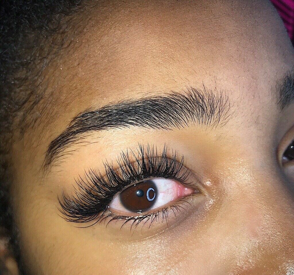 7651536469e Full set Classic Individual eyelash Extensions, Mink/Silk. - Hybrid also  available NW10 London | in North West London, London | Gumtree