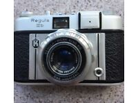Classic King Regula IIIb 35mm Camera with many Accessories
