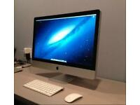 "APPLE IMAC 27"" INCH WITH WIRELESS K/B & MOUSE MINT CONDITION BARGAIN MUST SEE LOOK !!!"