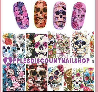 Sugar Skulls Theme   Nail Decals