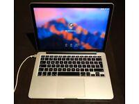 Apple MacBook Pro Retina 13-inch Early 2015 2.7Ghz i5 128GB SSD 8GB RAM