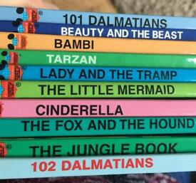 10 Disney story books, lovely gift, like new