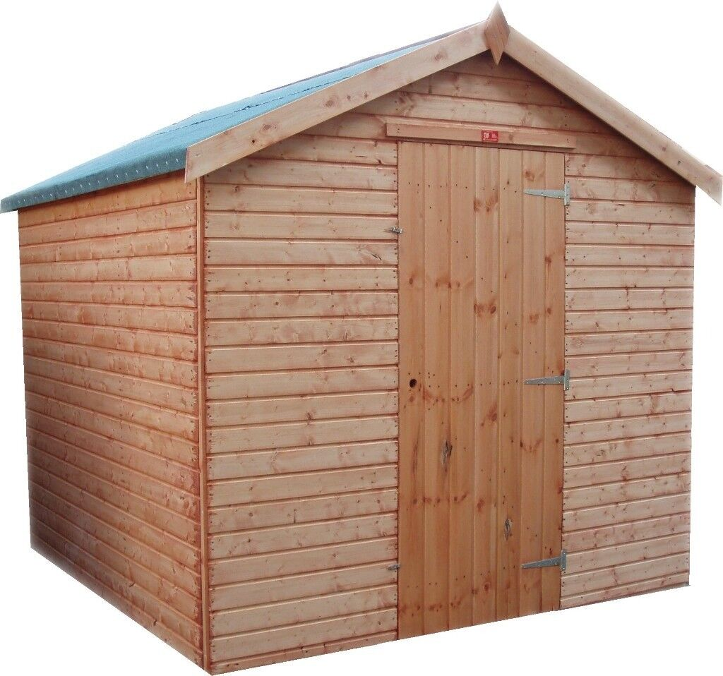 12ft x 6ft garden shed fully tg factory seconds big cheap shed