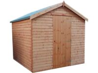 12ft x 6ft Garden Shed - Fully T&G Factory seconds - BIG CHEAP SHED **TO CLEAR**