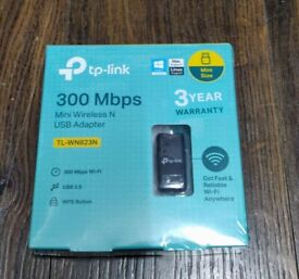 TP LINK MINI WIRELESS N USB ADAPTER - BRAND NEW