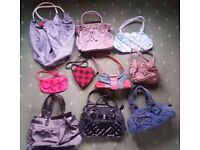 10 Handbags Collection Bulk Lot