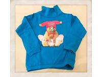 Blue sweater size 3years