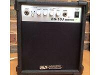 Acoustic Solutions EG-10J Guitar amp Electric Guitar Amplifier, Practice Amp, 10w, Sounds Great!