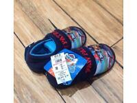 BNWT Paw patrol slippers size 5