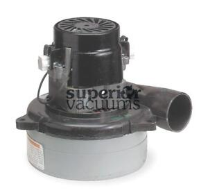 """Motor 2 Stage 24 Volt Bypass 5.7"""", Tangential Discharge Dry Epoxy Painted Fan Case Air Sealed Bearing 17.5 Amps"""