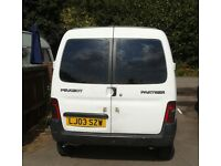 Peugeot Partner Van (parts or spares)