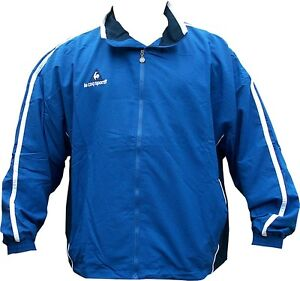 Men's le Coq Sportif Track Top Training Top blue or black