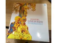 George Frideric Handel Love In Bath UK vinyl