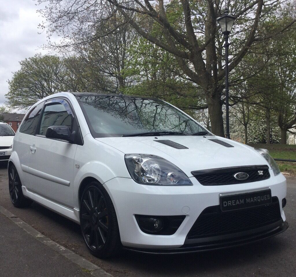 2008 08 ford fiesta st frozen white mountune trc spoilers miltek 4 2 1 mani etc only 76k hpi. Black Bedroom Furniture Sets. Home Design Ideas