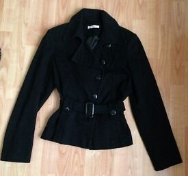Ladies black jacket size 12