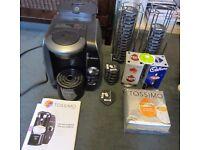 Bosch Tassimo T65 TAS6515GB Titanium Coffee Machine + T-discs + Stands + Extras!