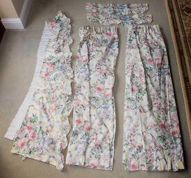 Marks & Spencer Floral Curtains (Charleston Gardens?)