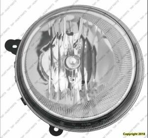 Head Lamp Passenger Side Without Auto Leveling Jeep Compass 2007-2010