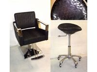BRAND NEW JOB LOT HAIR DRESSER BEAUTY SALON FURNITURE MIRRORS UNITS CUTTING CHAIRS STOOLS TROLLEY