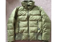 Calvin Klein goose down green jacket