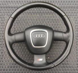 Audi steering wheel (complete)