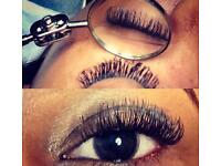sale semi permanent eyelash extensions from £35