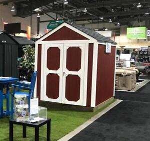 6' x 8' Storage Shed ~ Shed Solutions Calgary