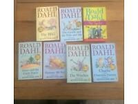 Roald Dahl Selection books x 7