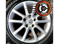 """16"""" Genuine Seat alloys VW Caddy Golf etc perfect cond excel tyres."""
